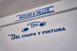 Acceso a taller pmk chapa y pintura